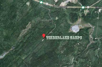Timberwolf Camps location