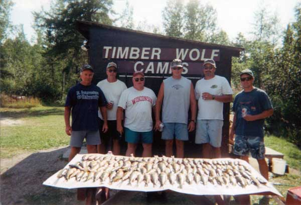 Fish at Timber Wolf Camps