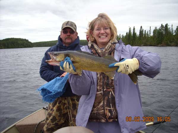 Timberwolf Camps Walleye Gallery